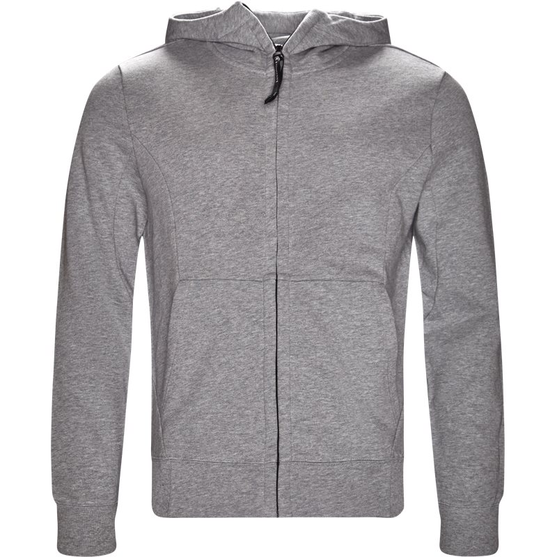 C.p. company - hooded open sweatshirt fra c.p. company på kaufmann.dk